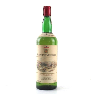 Continente 5 Year Old Scotch Whisky