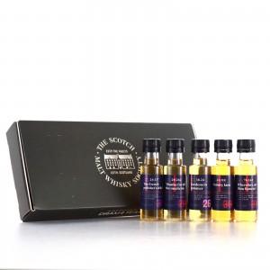 SMWS Premium Miniature Sample Selection 5 x 2.5cl