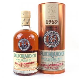 Bruichladdich 1989 Full Strength 16 Year Old