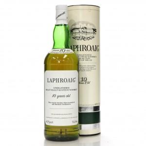 Laphroaig 10 Year Old 1 Litre 1980s