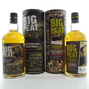 Big Peat 1992 25 Year Old and Sherry Cask Finish / Feis Ile 2017 2 x 70cl
