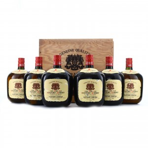 Suntory Old Whisky 6 x 76cl / Wooden Crate