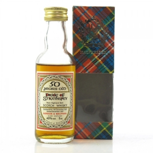 Pride Of Strathspey 1937 Gordon and MacPhail 50 Year Old Miniature