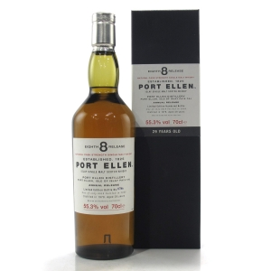 Port Ellen 1978 29 Year Old 8th Release