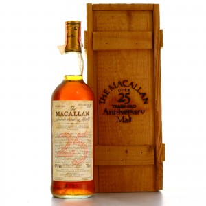 Macallan 1965 Anniversary Malt 25 Year Old / Giovinetti Import