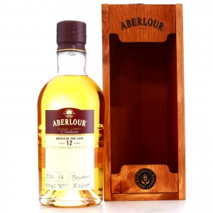 Aberlour 12 Year Old Distillery Exclusive / Bourbon Cask