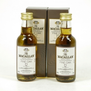 Macallan 12 Year Old Fine Oak 2 x 5cl