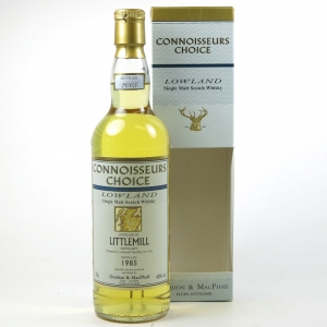 Littlemill 1985 Gordon and Macphail 20 Year Old