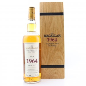Macallan 1964 Fine and Rare 37 Year Old