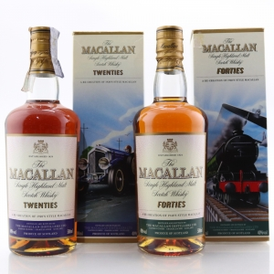 Macallan Decades Selection 2 x 50cl / Twenties and Forties