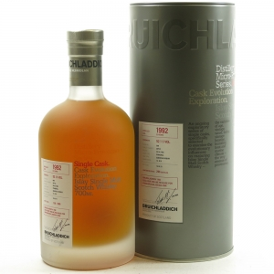 Bruichladdich 1992 Single Cask 22 Year Old / Micro Provenance Front