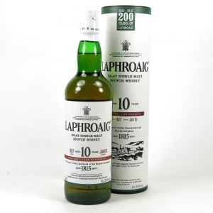 Laphroaig 10 Year Old Cask Strength Batch #07 200th Anniversary
