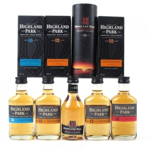 Highland Park Miniature Selection 5 x 5cl