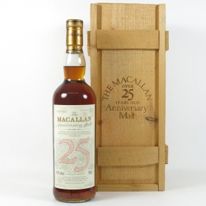 Macallan 1969 Anniversary Malt 25 Year Old Front