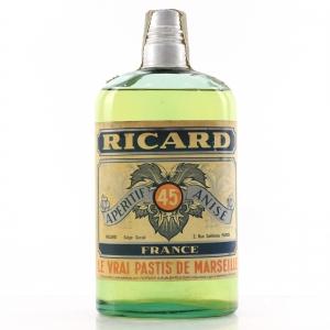 Ricard Apertif Anise Half Bottle 1960s