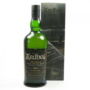 Ardbeg 10 Year Old / Tractor Box Front