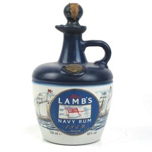 Lamb's Navy Rum Decanter 1980s