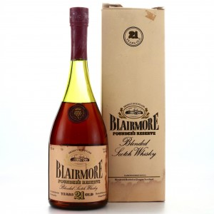 Blairmore 21 year old Founders reserve
