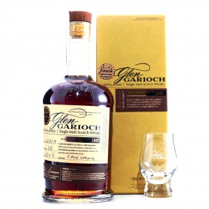 Glen Garioch 1997 Hand Filled 21 Year Old Cask #9 / 1st Fill Sherry Butt with Glass