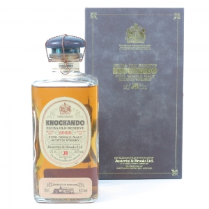 Knockando 1962 Extra Old Reserve Front