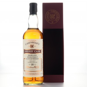 Dalmore 2001 Cadenhead's 18 Year Old Sherry Cask