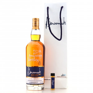 Benromach 1998 20th Anniversary Colleague Release / with 1cl Sample