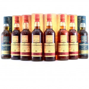 Glendronach Cask Strength Batch #1-8 8 x 70cl