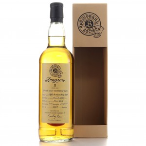 Longrow 2007 Springbank Society 11 Year Old / Refill Sherry Butt