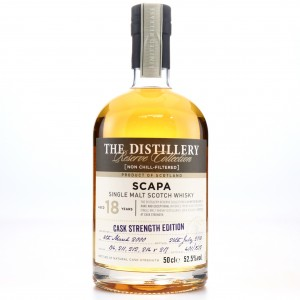 Scapa 2000 Reserve Collection 18 Year Old 50cl / Cask Strength Edition