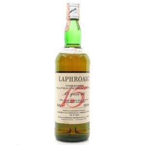 Laphroaig 15 Year Old 1980s / Cinzano Import