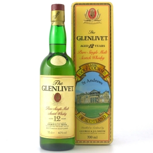 Glenlivet 12 Year Old St Andrews Golf Course Tin