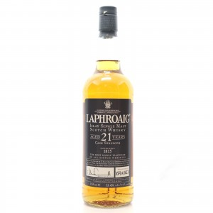 Laphroaig 21 Year Old Cask Strength 75cl / US Import