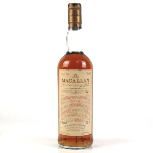 Macallan 1962 Anniversary Malt 25 Year Old