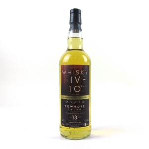 Bowmore 2000 Whisky Live Paris 13 Year Old