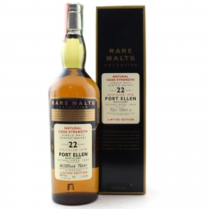 Port Ellen 1978 Rare Malt 22 Year Old / 60.50%