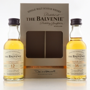 Balvenie Triple Cask 12 & 16 Year Old Miniature Set 2 x 5cl