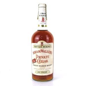 Hiram Walker 1958 Private Cellar 4 Year Old Bottled in Bond 1 Quart