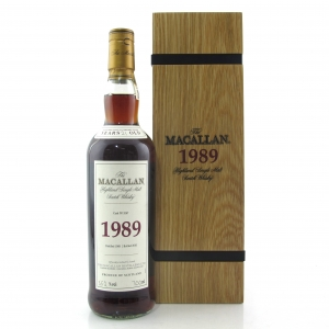 Macallan 1989 Fine and Rare 21 Year Old