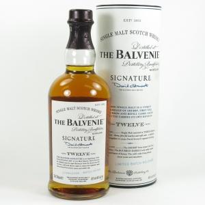 Balvenie 12 Year Old Signature Batch 001