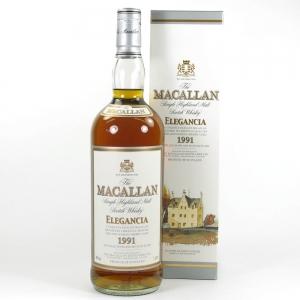 Macallan 1991 Elegancia 1 Litre