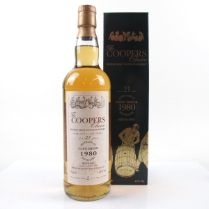 Glen Mhor 1980 Coopers Choice 21 Year Old
