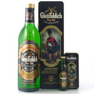 Glenfiddich Clans of the Highlands / Clan Montgomerie with Miniature 5cl