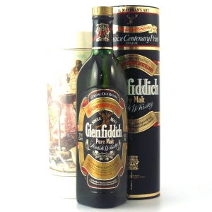 Glenfiddich Pure Malt 1980s / Including Print
