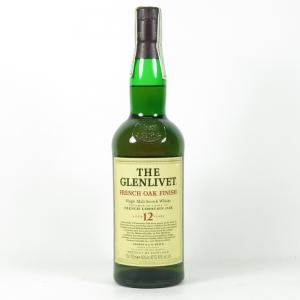 Glenlivet 12 Year Old French Oak Finish Front