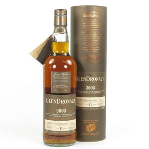 Glendronach 2003 Single Cask 11 Year Old Front