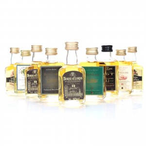Miscellaneous Blended Miniature Selection 9 x 5cl