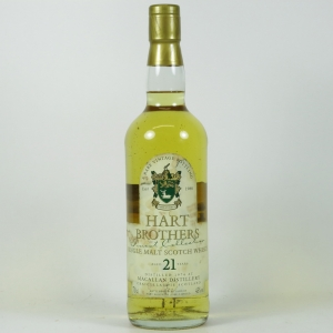 Macallan 1974 Hart Brothers 21 Year Old Front
