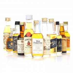 Non-Scotch Whisky Miniature Selection x 11