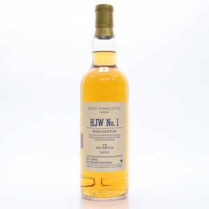 Port Charlotte 2001 Private Cask 12 Year Old / HJW No.1