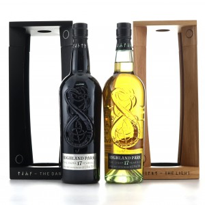 Highland Park 17 Year Old The Dark & Light 2 x 70cl